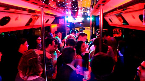 Doing an IQ Test in a Party Bus